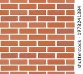 brick. brickwork. seamless...   Shutterstock .eps vector #1978241384