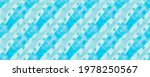 Blue Pattern. White Modern...