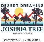 joshua tree national park...   Shutterstock .eps vector #1978290851
