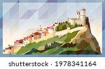 city of san marino skyline...   Shutterstock .eps vector #1978341164