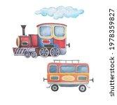 Transport  Train Trailer...