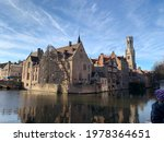 View Of The City Of Bruges ...