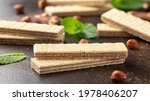 Tasty Wafer Biscuits With...