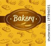 Bakery. Seamless Background...