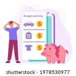 economy crisis concept.sad man  ... | Shutterstock .eps vector #1978530977