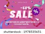sale  50  font set collection ... | Shutterstock .eps vector #1978535651
