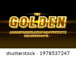 gold font set collection ... | Shutterstock .eps vector #1978537247
