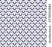 seamless fish scales ornamental ... | Shutterstock .eps vector #1978542884