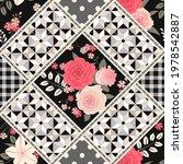 seamless patchwork pattern... | Shutterstock .eps vector #1978542887