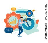 business statistical data... | Shutterstock .eps vector #1978575287