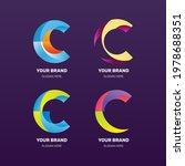 gradient colored c logo...   Shutterstock .eps vector #1978688351