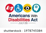 the americans with disability...   Shutterstock .eps vector #1978745384