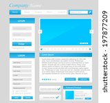 web design template  ui...