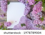 empty space notepad list with... | Shutterstock . vector #1978789004