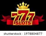 777 slots symbol  jackpot sign...
