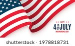 4th of july banner. american...   Shutterstock .eps vector #1978818731