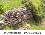 rocks and bushes as a natural... | Shutterstock . vector #1978834691