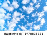 blue sky with white clouds | Shutterstock . vector #1978835831