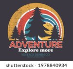 larch tree graphic t shirt... | Shutterstock .eps vector #1978840934
