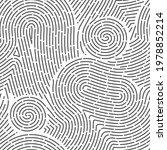 seamless finger print. black... | Shutterstock .eps vector #1978852214