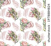 seamless pattern with exotic... | Shutterstock . vector #1978884824