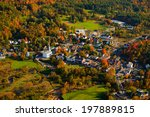 Aerial Fall Foliage View Of...