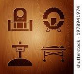 set dead body in the morgue ... | Shutterstock .eps vector #1978941974
