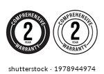 2 year comprehensive warranty ... | Shutterstock .eps vector #1978944974
