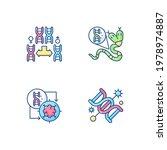 dna manipulation rgb color... | Shutterstock .eps vector #1978974887