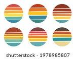 retro sunset vector design....   Shutterstock .eps vector #1978985807