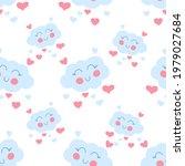 a boho rainbow. for fabrics ...   Shutterstock .eps vector #1979027684