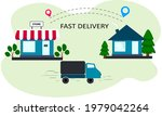 fast delivery from the store.... | Shutterstock .eps vector #1979042264
