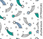 seamless repeat pattern with... | Shutterstock .eps vector #1979044181