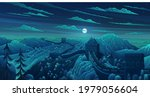 great wall of china vector... | Shutterstock .eps vector #1979056604