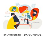 vector colorful illustration of ... | Shutterstock .eps vector #1979070401