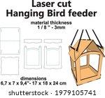 laser cutting pattern hanging...   Shutterstock .eps vector #1979105741
