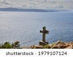 Stone Cross In Memory Of...