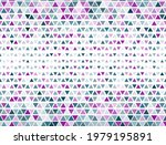 intricate triangles halftone...   Shutterstock .eps vector #1979195891