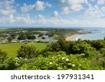 whitecliff bay  isle of wight ... | Shutterstock . vector #197931341