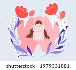 flat illustration of hands...   Shutterstock .eps vector #1979331881
