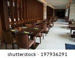 modern restaurant interior ... | Shutterstock . vector #197936291