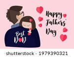 happy fathers day vector...   Shutterstock .eps vector #1979390321