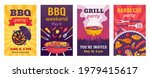 barbecue posters. bbq party... | Shutterstock .eps vector #1979415617