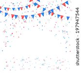 independence day background... | Shutterstock .eps vector #197947544