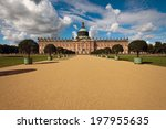 new palace in sanssouci park ... | Shutterstock . vector #197955635
