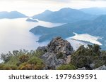 sea view from the mountain top. ... | Shutterstock . vector #1979639591