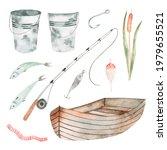 Watercolor Hand Drawing Set...