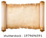 Old Parchment Paper Scroll...