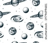 seamless pattern with celestial ...   Shutterstock .eps vector #1979699681
