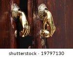 Door Handle Knocker In Spain